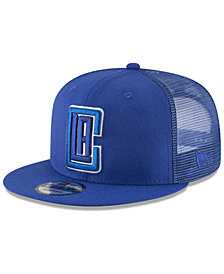 New Era Los Angeles Clippers Almost Tonal Trucker 9FIFTY Snapback Cap