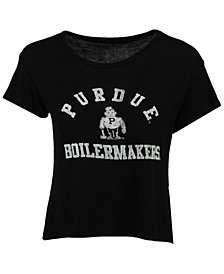 Retro Brand Women's Purdue Boilermakers Rayon Vintage T-Shirt