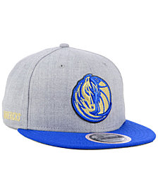New Era Dallas Mavericks Heather Metallic 9FIFTY Snapback Cap