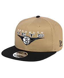 New Era Brooklyn Nets Jack Knife 9FIFTY Snapback Cap