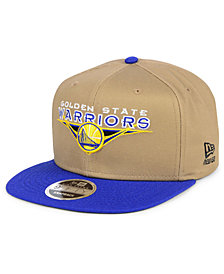 New Era Golden State Warriors Jack Knife 9FIFTY Snapback Cap