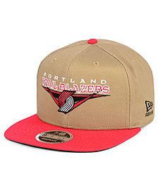 New Era Portland Trail Blazers Jack Knife 9FIFTY Snapback Cap