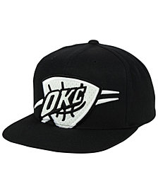 Mitchell & Ness Oklahoma City Thunder XL Mesh Crop Snapback Cap