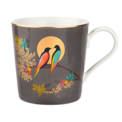 Sara Miller 12 oz. Mug Dark Grey