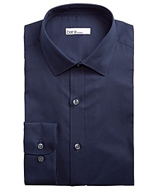 Men's Slim-Fit Stretch Textured Solid Dress Shirt, Created for Macy's