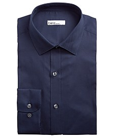 Bar III Men's Slim-Fit Stretch Textured Solid Dress Shirt, Created for Macy's