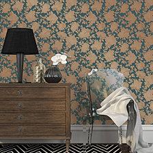 Tempaper Silhouette Self-Adhesive Wallpaper