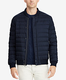 Polo Ralph Lauren Men's Packable Down Baseball Jacket
