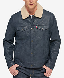 Levi's® Men's Faux Leather Trucker Jacket
