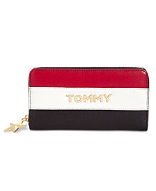 Tommy Hilfiger Peyton Zip-Around Wallet