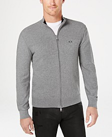 Men's Zip-Front Cardigan