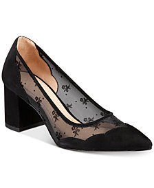 COACH Whitley Block-Heel Pumps