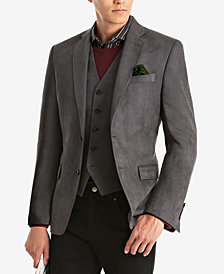 Lauren Ralph Lauren Men's Classic-Fit Faux-Suede Matching Jacket and Vest
