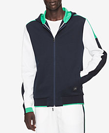 Calvin Klein Men's Colorblocked Full-Zip Hoodie