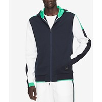 Calvin Klein Mens Colorblocked Full-Zip Hoodie Deals