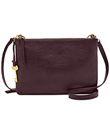 Fossil Devon Small Leather Crossbody