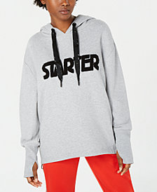 Starter Oversized Logo Hooded Sweatshirt