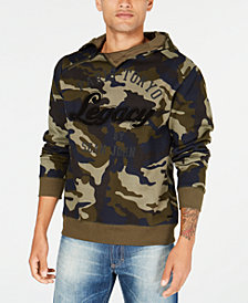 Sean John Men's City Legacy Graphic Hoodie