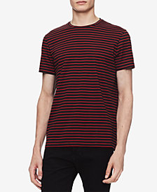 Calvin Klein Men's Auto Stripe T-Shirt