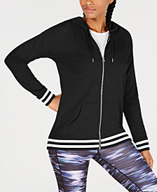 Ideology Varsity Zip Hoodie, Created for Macy's