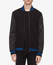 Calvin Klein Men's Colorblocked Bomber Jacket