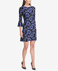 Tommy Hilfiger Bell Sleeve Dress