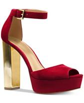 5d1a8fccb8781 MICHAEL Michael Kors Paloma Metallic Block-Heel Sandals
