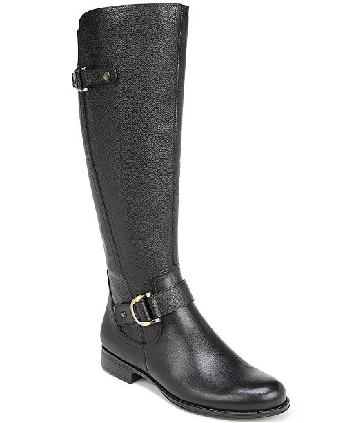 1b66a08ac18 Naturalizer Jillian Wide Calf Riding Boots   Reviews - Boots - Shoes ...