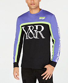 Young & Reckless Men's Long-Sleeve Logo Print T-Shirt