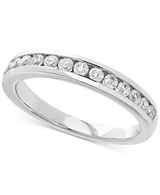 Lab Grown Diamond Band (1/2 ct. t.w.) in 14k White Gold
