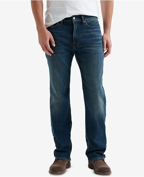 Lucky Brand Men's 363 Straight-Fit COOLMAX® Temperature-Regulating Jeans
