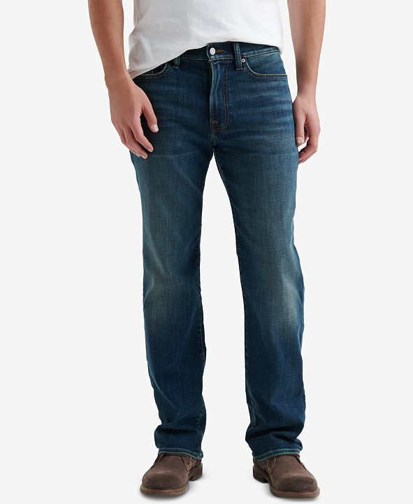 Lucky Brand Men's 363 Straight Fit COOLMAX® Temperature-Regulating Jeans