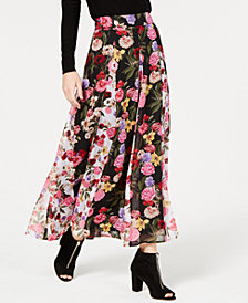 I.N.C. Printed Maxi Skirt, Created for Macy's