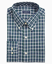 Assorted Club Room Men's Slim-Fit Button Down Collar Dress Shirts, Created for Macy's