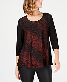 Ny Collection Women S Petite Tops Macy S