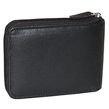 Emblem Zip-Around Billfold