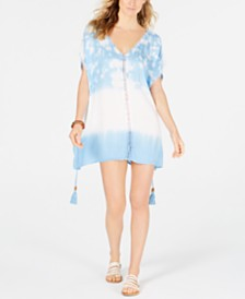 Raviya Tie-Dye Tunic Cover-Up