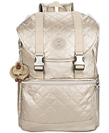 Kipling Metallic Experience Laptop Backpack