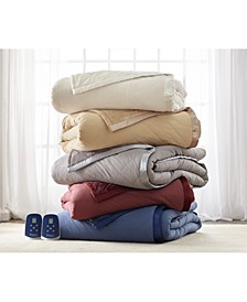 Micro Flannel® to Ultra Velvet® Electric Comforter/Blanket Collection