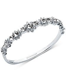 Givenchy Crystal Flower Bangle Bracelet