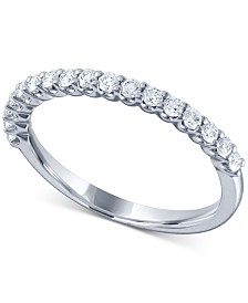 Diamond Band (1/3 ct. t.w.) in 14k White Gold