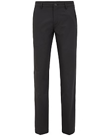 BOSS Men's Slim-Fit Twill Trousers