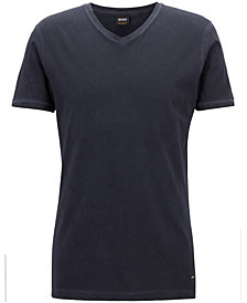 BOSS Men's Regular/Classic-Fit V-Neck Cotton T-Shirt