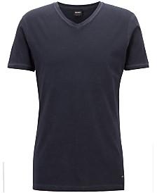 BOSS Men's Regular/Classic-Fit V-Neck Cotton T-Shirt