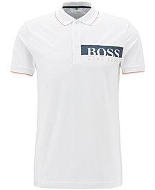 BOSS Men's Slim-Fit Logo Graphic Polo