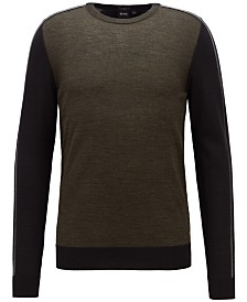 BOSS Men's Virgin Wool Sweater