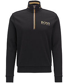 BOSS Men's Half-Zip Sweatshirt