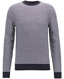 BOSS Men's Jacquard Sweater