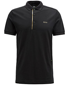 BOSS Men's Slim-Fit Piqué Polo