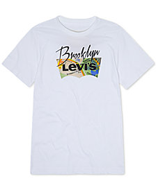 Levi's® Little Boys NYC Subway Map Batwing Graphic T-Shirt